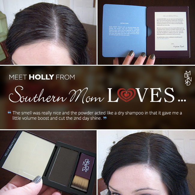 Holly from @southernmomlove had tried a range of root touch up products in the past with no success. She jumped at the chance to try our new powder compact and we couldn't be more excited about her results! #diy #haircare #makeover