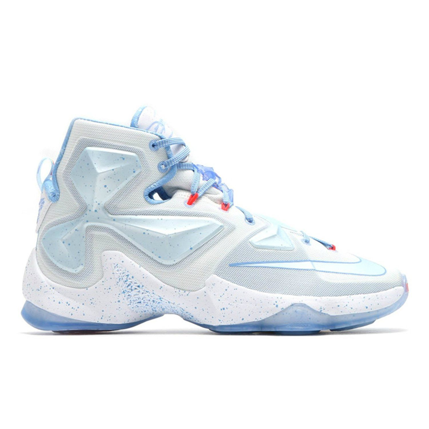 new arrival 0f9a4 5d69e Amazon.com  nike lebron XIII XMAS mens hi top basketball trainers 816278  sneakers shoes (13)  Clothing