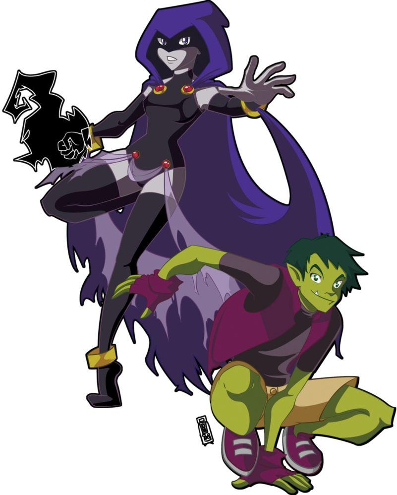I Ship Raven X Beast Boy  Haters Gonna Hate  Teen -9863