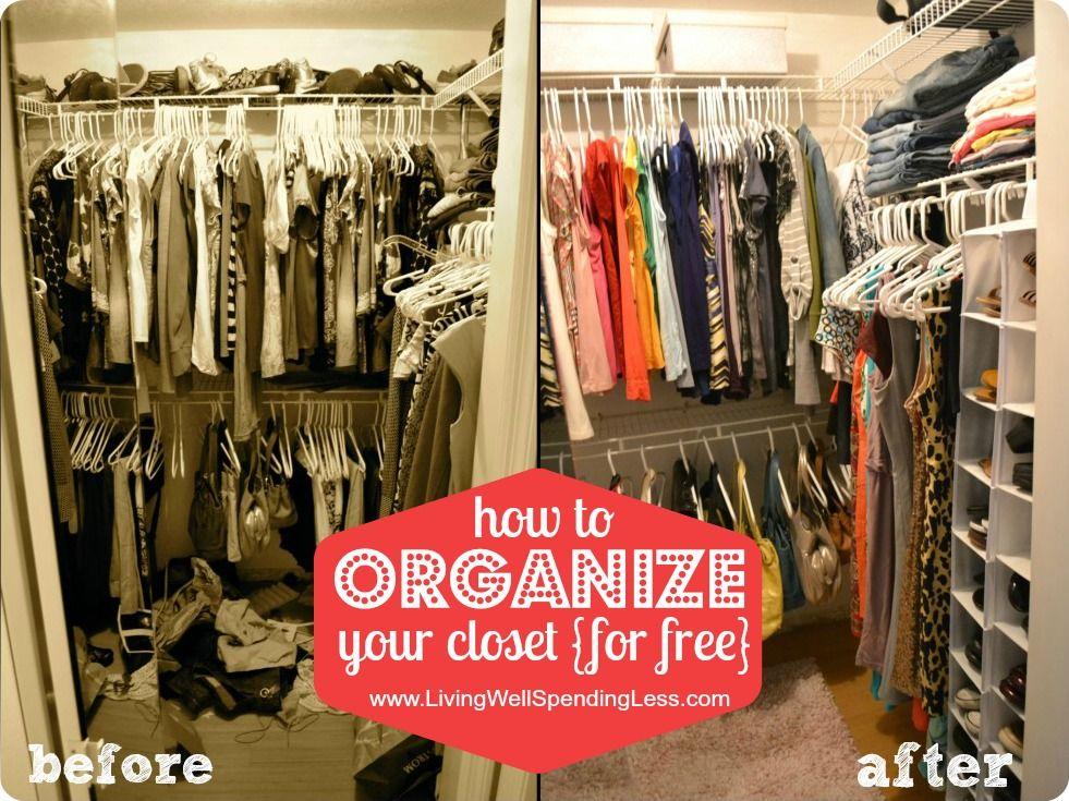 Wonderful Organize Bedroom Closet