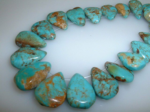 Real Turquoise Beads   The Turquoise Chick