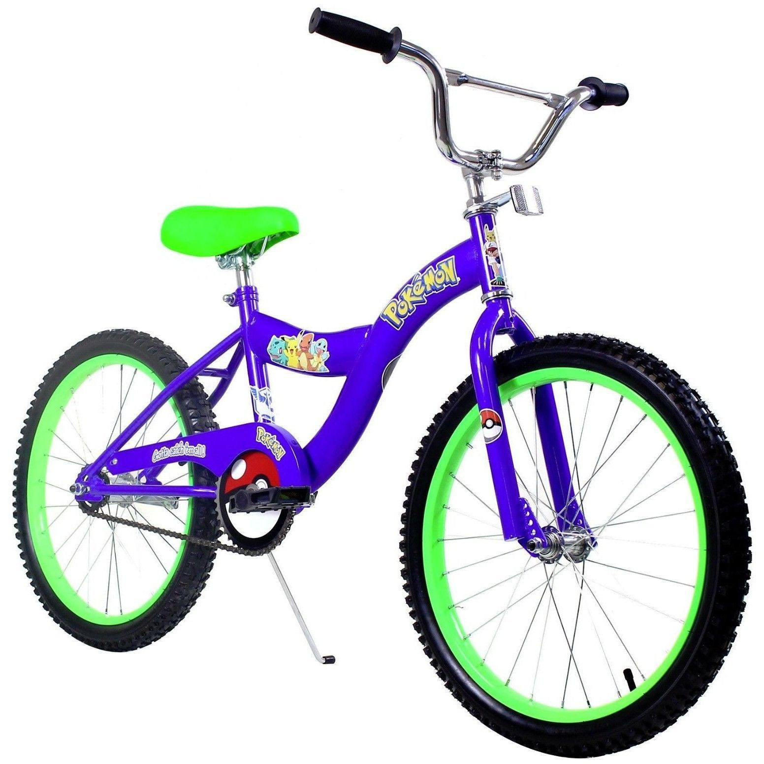"Kids 16"" Bicycle Bike Blue Includes Pokemon Stickers NEW"