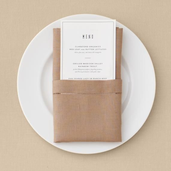 Napkin Folding Ideas For Weddings: Dancing On The Tables