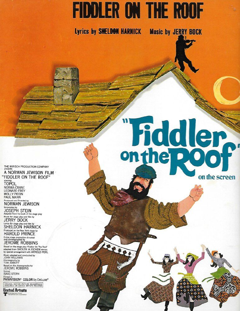 Fiddler on the Roof (1971) Fiddler on the roof, Fiddler