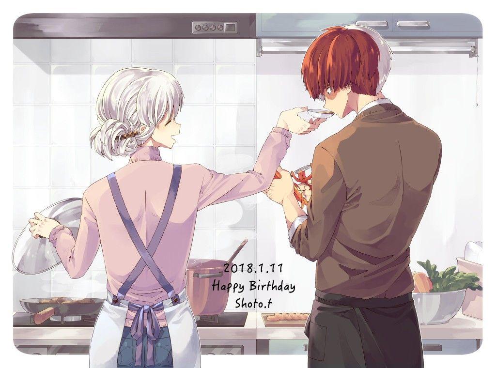 Todoroki Shouto's Birthday [1.11]♡ My hero, My hero