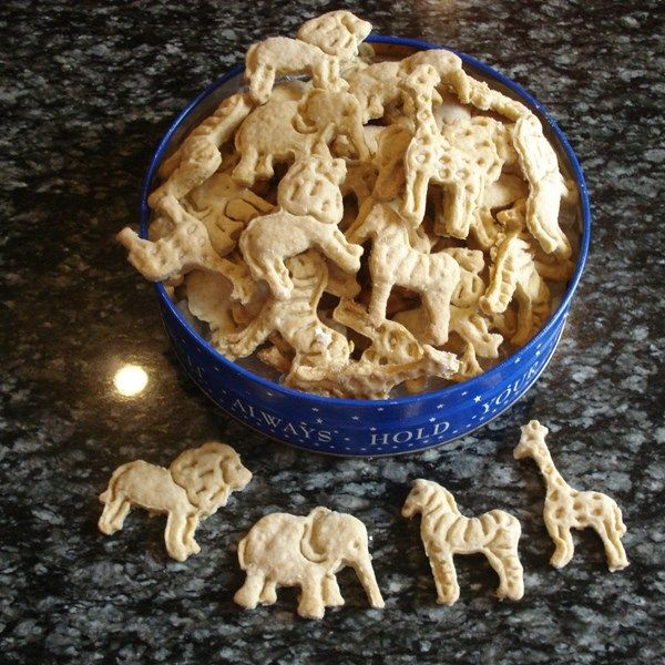 Animal crackers very easy to make and fun to do with the kids make your own animal crackers cut these tasty not too sweet cookies into animal shapes made with buttermilk oats and honey solutioingenieria Image collections