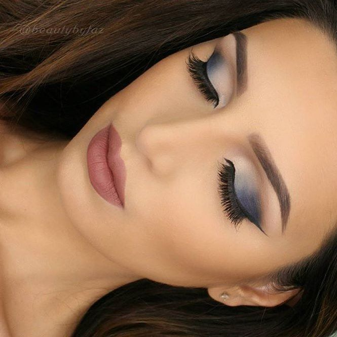 Such a pretty look @beautybyfaz  @shophudabeauty lashes in Samantha