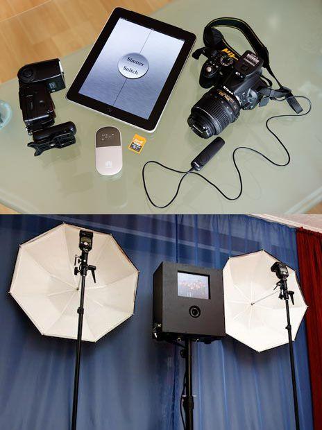 Diy photo booth with a dslr and ipad diy photo booth photo diy photo booth with a dslr and ipad solutioingenieria Choice Image