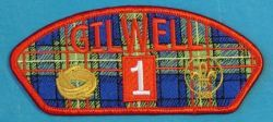 Scouting Memorabilia :: Council Issued Items :: Council Shoulder Patches - CSPs :: CSP G :: Gilwell CSP Tartan - Boy Scout Store - Boy Scout Collectibles & Memorabilia & Gifts