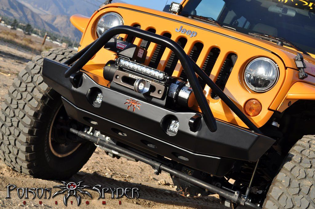 Poison Spider Jeep bumpers, Jeep parts, Jeep wrangler jk