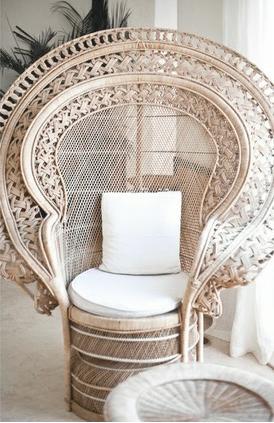 coup de coeur ambiance marocaine en noir blanc fauteuil emmanuelle fauteuils et rotin. Black Bedroom Furniture Sets. Home Design Ideas