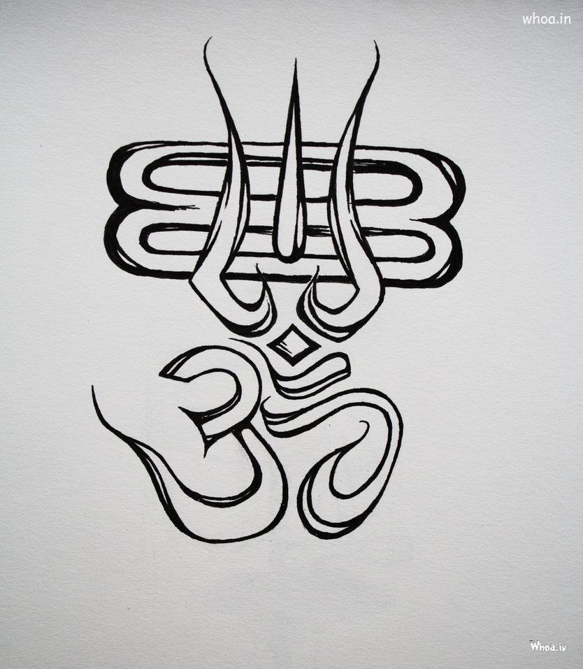 Om with shaiva symbols om namah shivay pinterest om symbol om with shaiva symbols buycottarizona