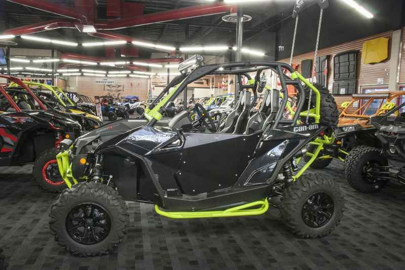 New 2017 Can-Am Maverick TURBO 1000R Turbo Triple Black ATVs For Sale in California. 2017 Can-Am Maverick TURBO 1000R Turbo Triple Black, 2017 Can-Am® Maverick TURBO 1000R Turbo Triple Black GET TURBOCHARGED SHARE The perfect combination of high performance, innovative technology and optimum ergonomics. The Maverick TURBO comes standard with the 131-HP 1000R TURBO Rotax engine. Features may include: TURBOCHARGED, 131-HP ROTAX 1000R V-TWIN ENGINE OPTION TURBOCHARGED POWER Boosting the…