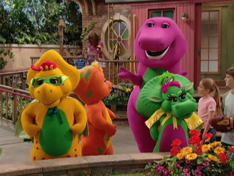 A Picture of Barney show BJ, And Baby Bop Both really great