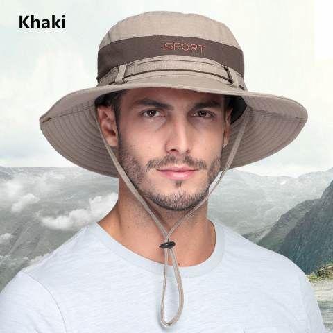 fd8f09f4cb3 UV package Outdoor fishing hats for men sun bucket hat
