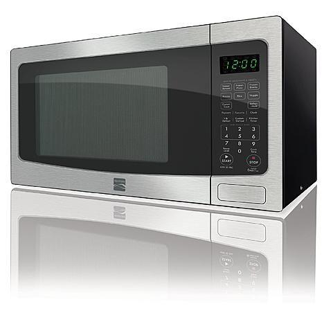 Kenmore 1 2 Cu Ft Countertop Microwave W Ez Clean Interior