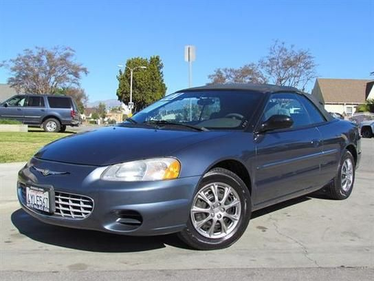 Cars For Sale 2002 Chrysler Sebring Lx Convertible In Los Angeles