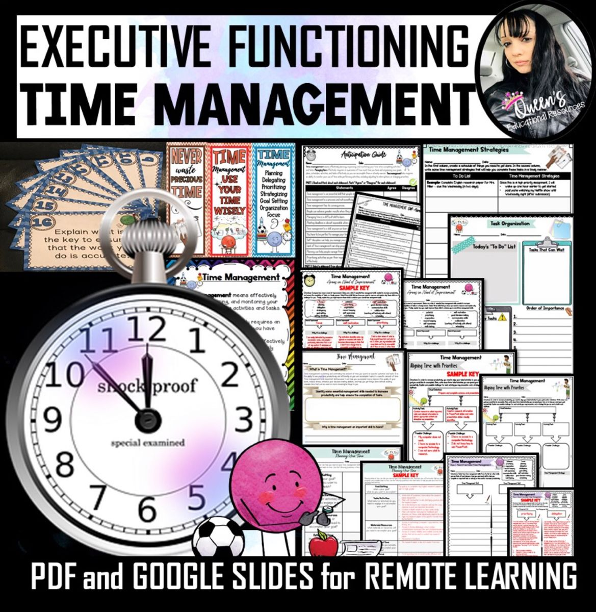 Time Management Worksheets And Answer Keys In