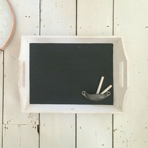 Rustic Kitchen Tray Chalkboard, Chalk Board, Kitchen Chalkboard