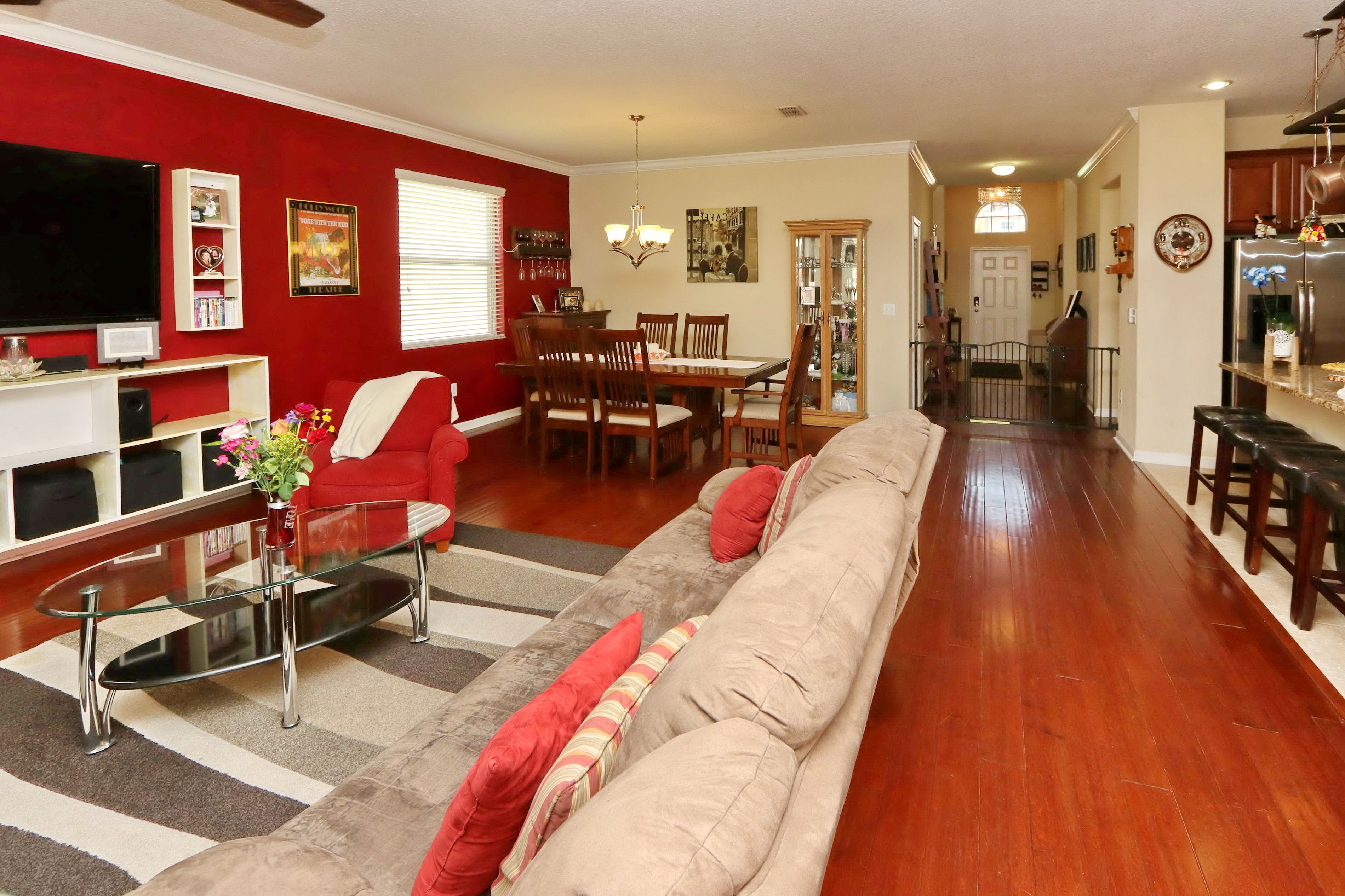 Four Bedroom Two Bath home sporting wood flooring, granite
