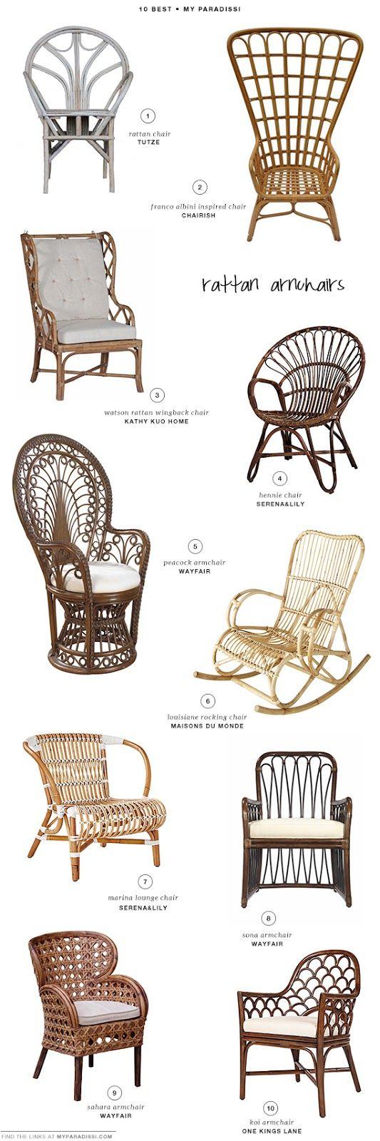 Poltrone In Vimini Da Interno 10 best: rattan armchairs | sedia vimini, vimini, sedie