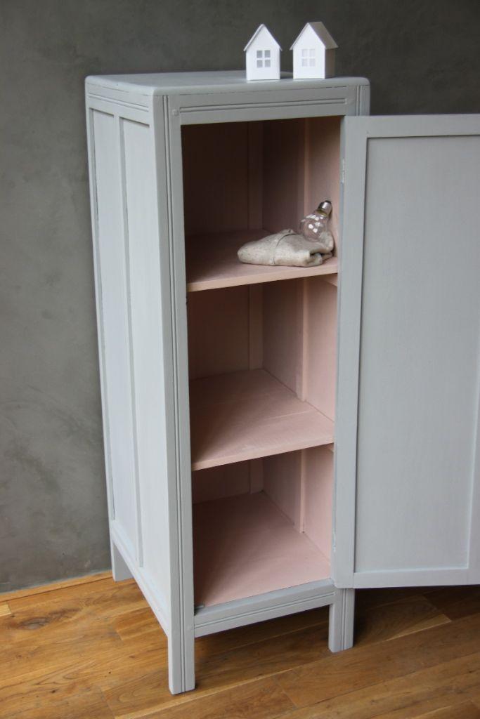 couleur gris/rosé poudré Peinture petits meubles Pinterest