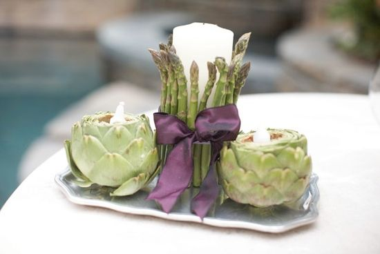 Centerpiece Ideas a charming, simple centerpiece perfect for when you want the food
