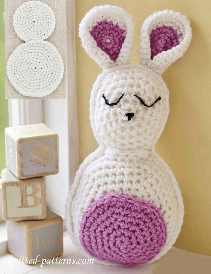 Cuddly Bunny Free Crochet Pattern | Amigurumis | Pinterest | Conejo ...