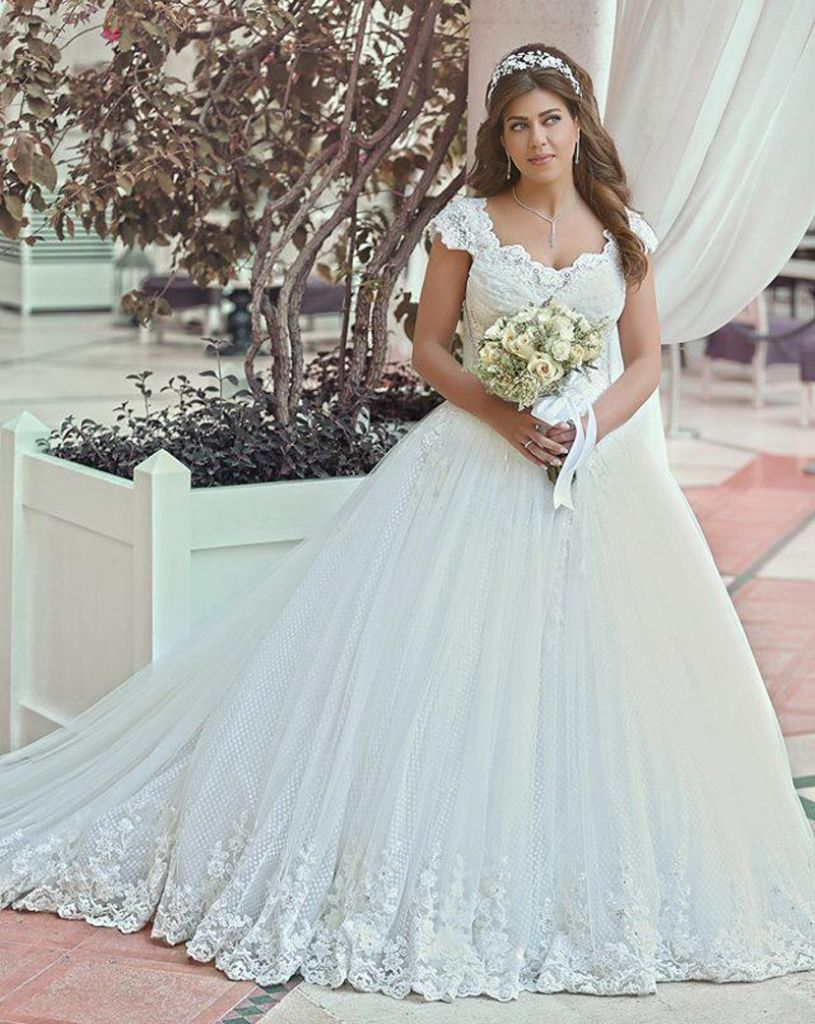 plus size ball gown wedding dresses with sleeves - wedding dresses ...