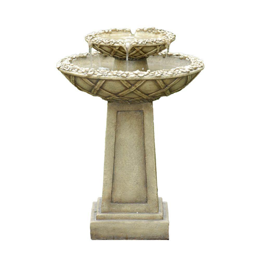 Fountain Cellar Bird Bath Outdoor Water Fountain Fcl057 Bird