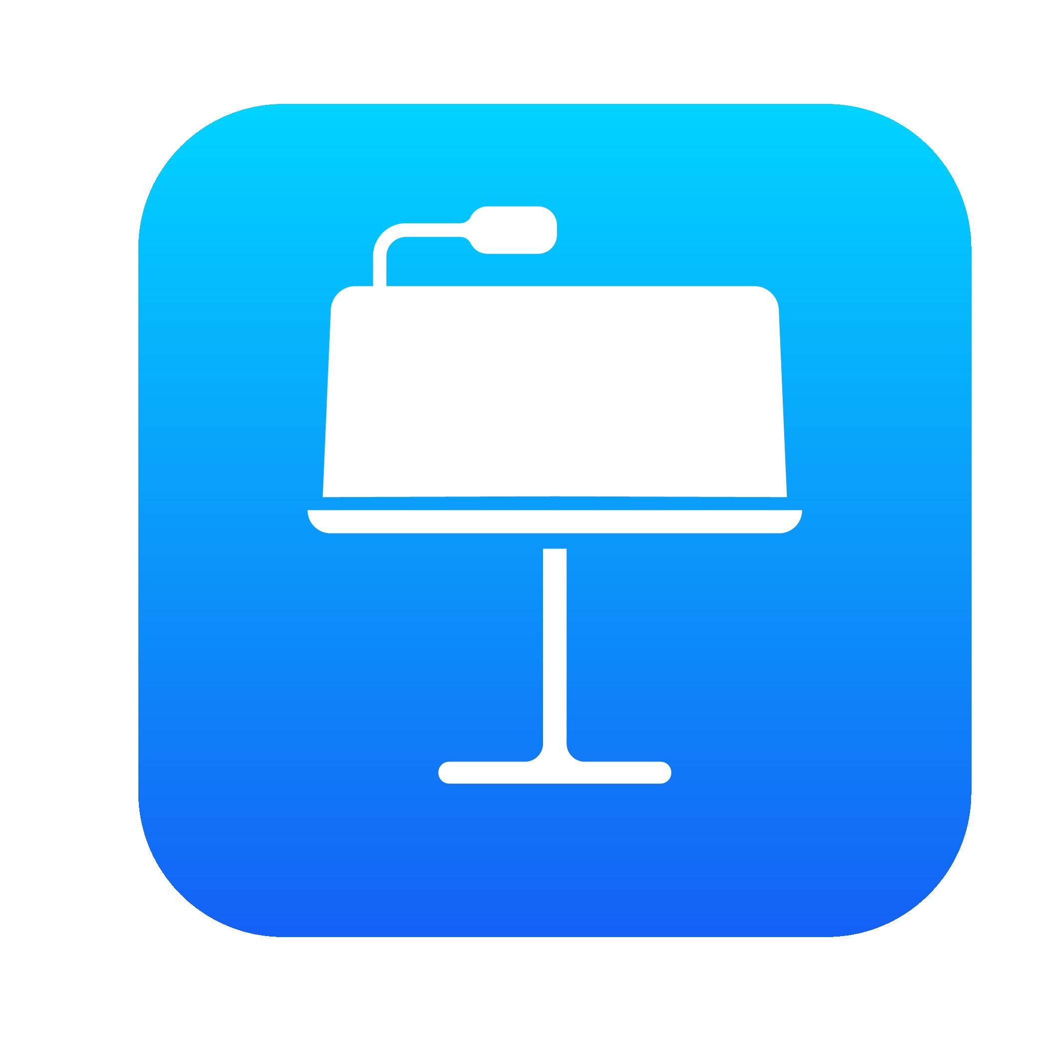 Icône iOS Keynote HD⎪Vector illustrator (ai.)   Azat ...