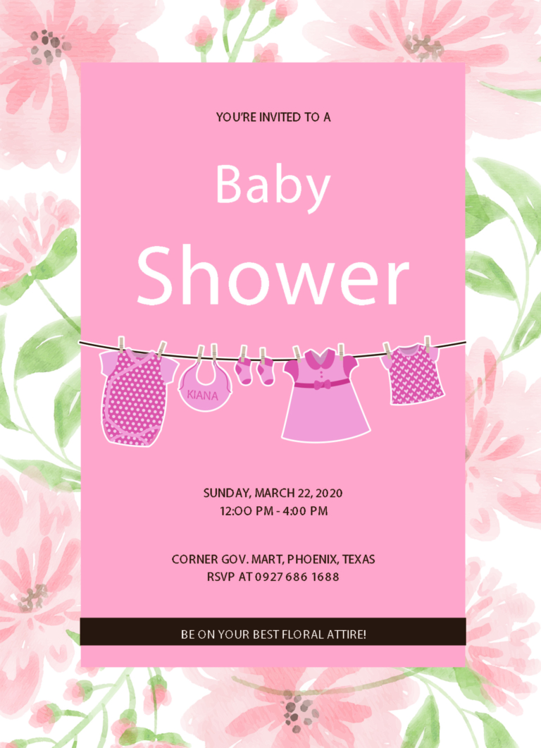 12 Free Editable Baby Shower Invitation Card Templates Colorful Baby Shower Invitations Free Baby Shower Invitations Baby Shower Invitation Cards