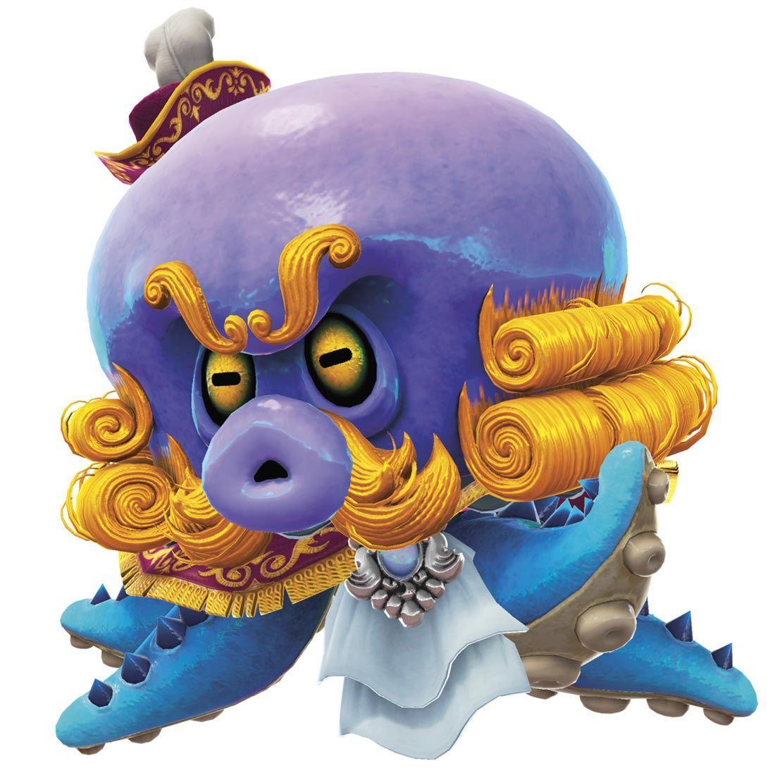 Mollosque lanceur from super mario odyssey act - Monstre de mario ...