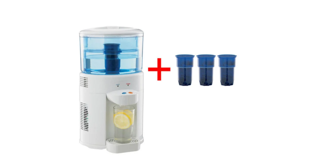 Lenoxx 5l Bench Top Water Cooler Filter Dispenser Cooling 3