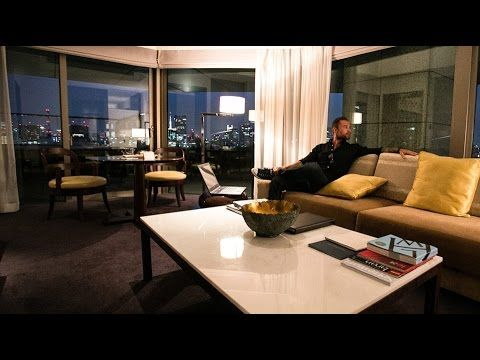 Cameron Fous Day Trades From Executive Suite 5 Star Hotel In Tokyo An