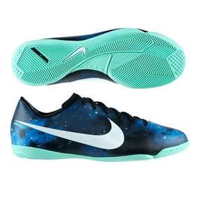 Nike Cr Youth Mercurial Victory Iv Ic Indoor Soccer Shoes Dark Obsidian Green Glow Black Metallic Platinum Soccer Soccer Shoes Soccer Boots Indoor Socc
