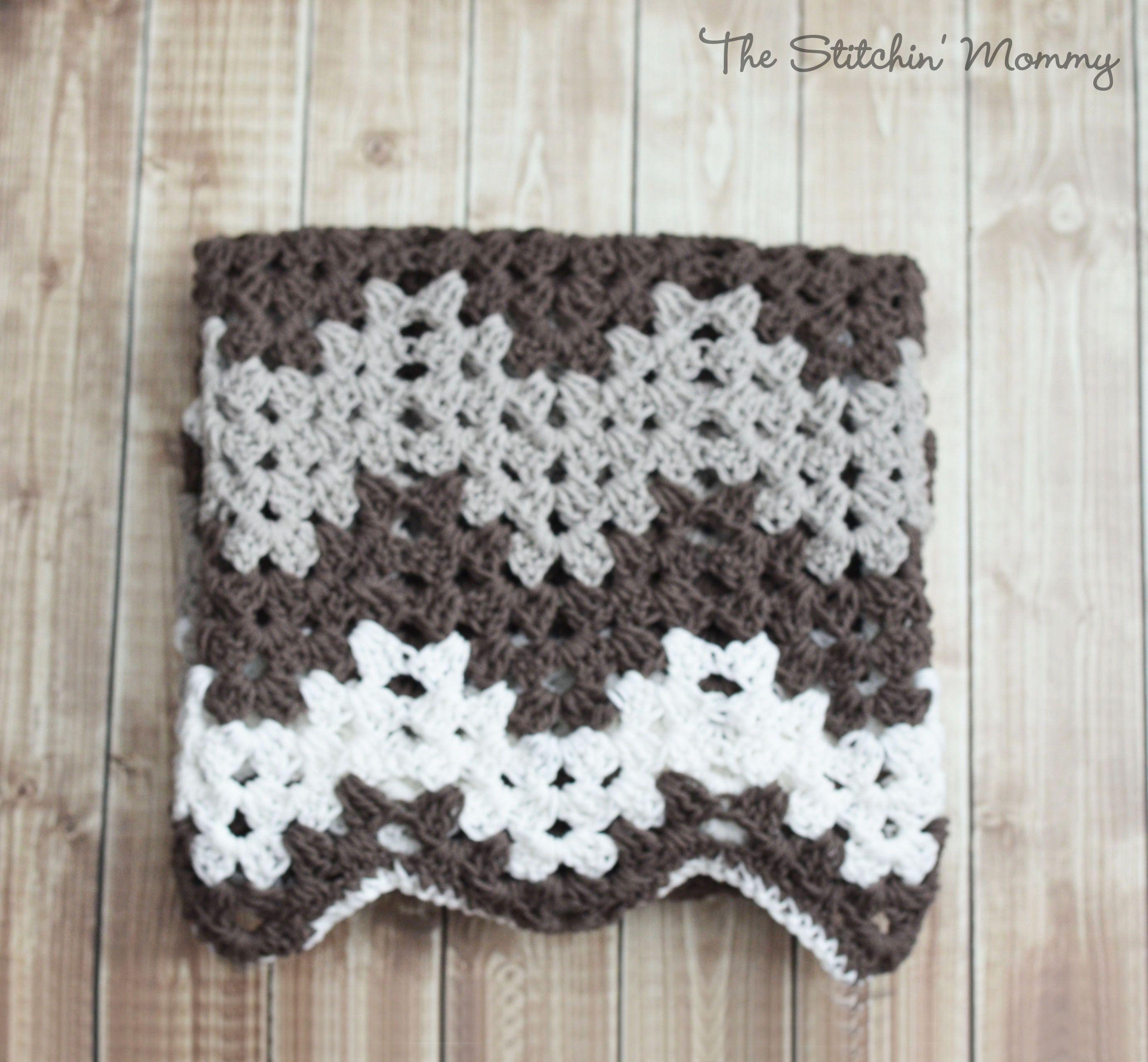 Granny Ripple Blanket | Patrones, Mantas de bebé y Frazadas