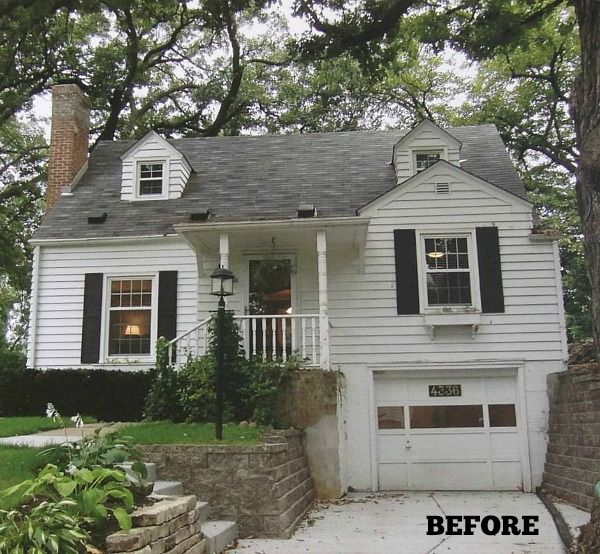 Cape Cod Curb Appeal Ideas Part - 47: Cape Cod BEFORE