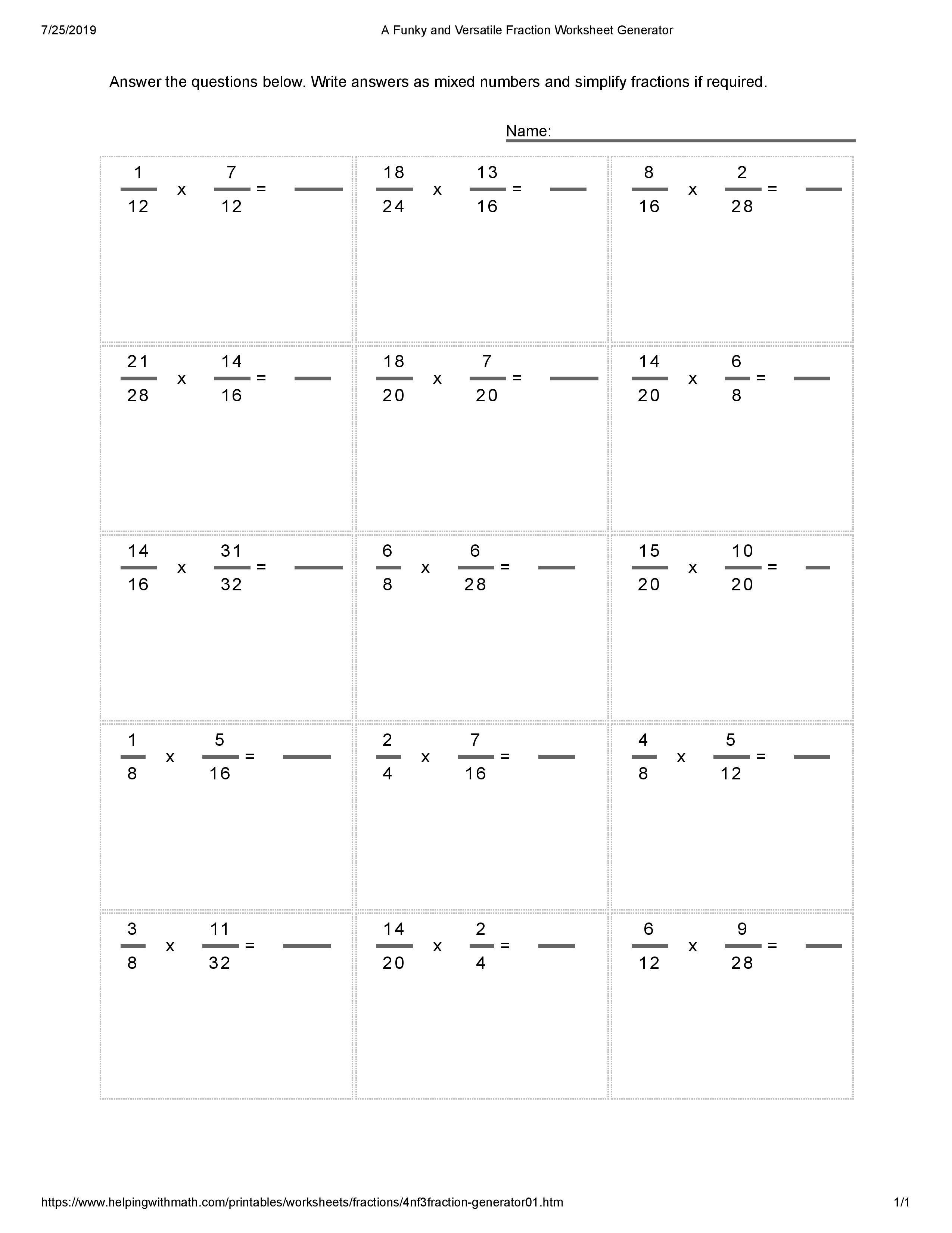 Pin by Calendar on Worksheets Fractions worksheets