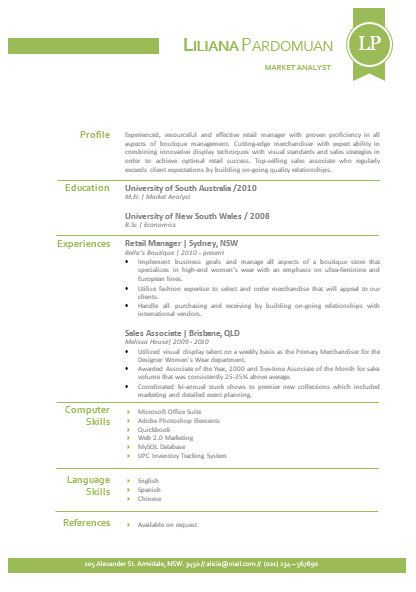 Modern Microsoft Word Resume 1 and 2 pages and cover by INKPOWER - resume 1 or 2 pages