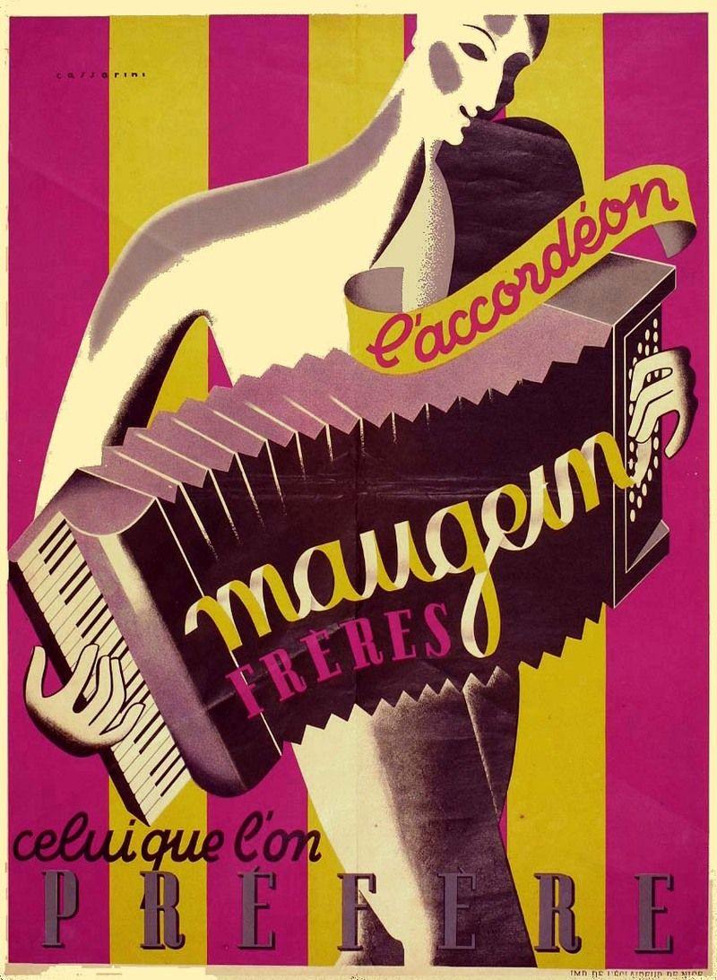 Affiche Maugein (1) - années 1930