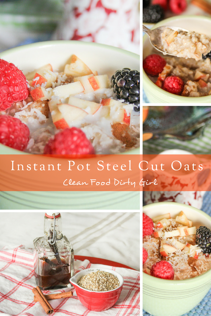I May or May Not be Wearing Granny Underpants + Instant Pot Steel Cut Oats