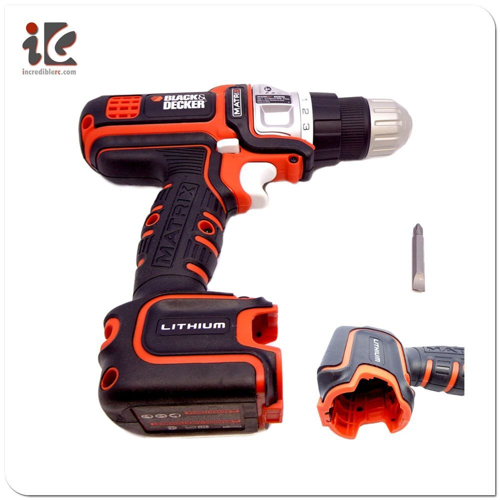 Black Decker Matrix Max 12v Cordless Drill Driver Bdcdmt112 No Battery Charger Blackdecker 16 99 Free S H Eb Black Decker Cordless Drill Drill Driver