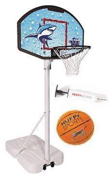 Spalding Huffy Portable Water Basketball Hoop Pool Shark Swimming Pool System Lifetime Tables Basketball Hoop Pool Basketball