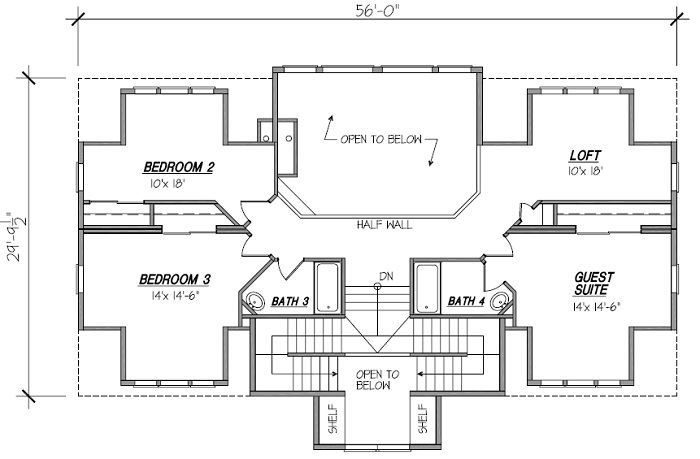 grizzly-ranch-floor-plan-2 | House plans | Pinterest | Ranch floor ...