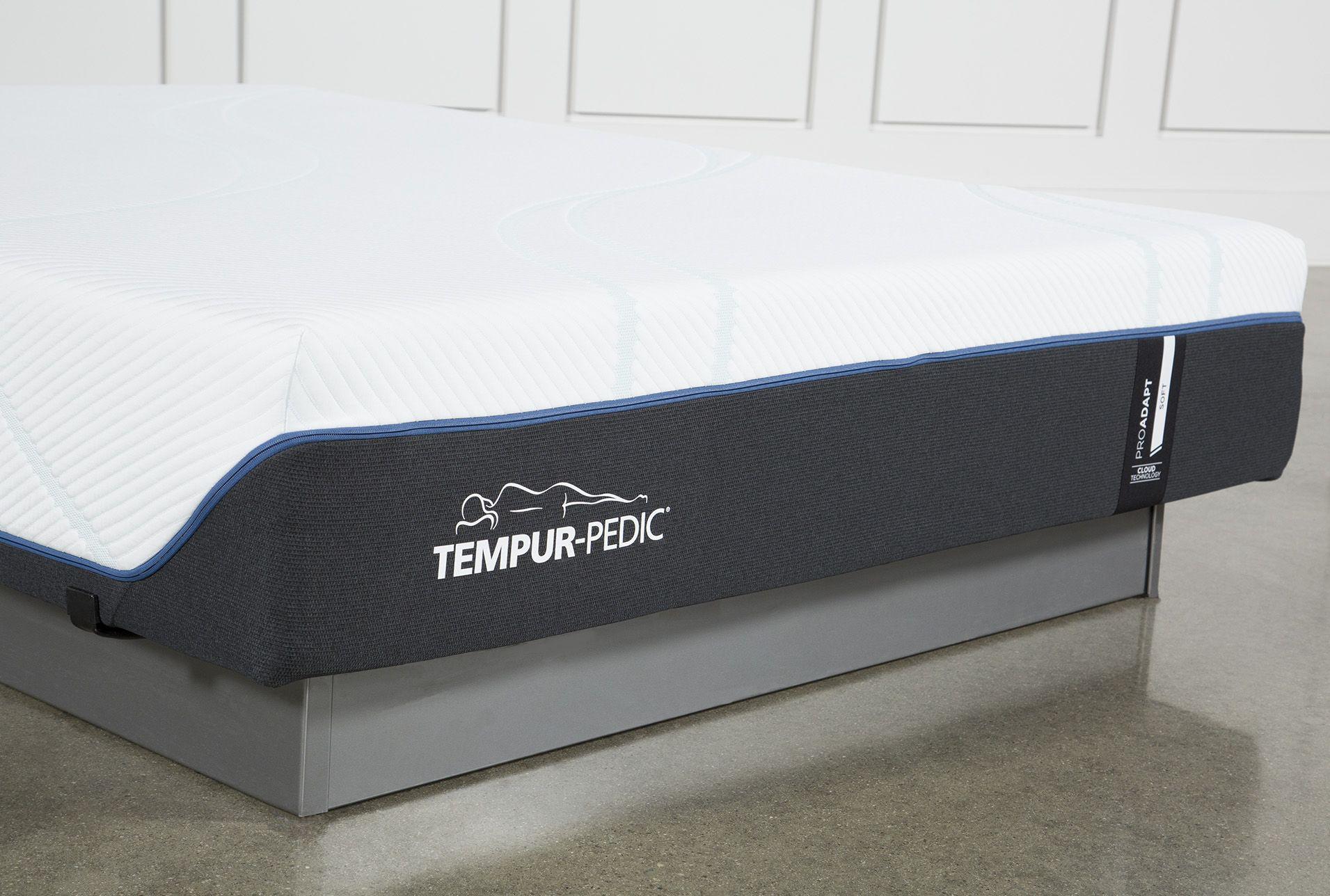 Tempur Pedic Inc Tempur Pro Adapt Soft Full Mattress Grey