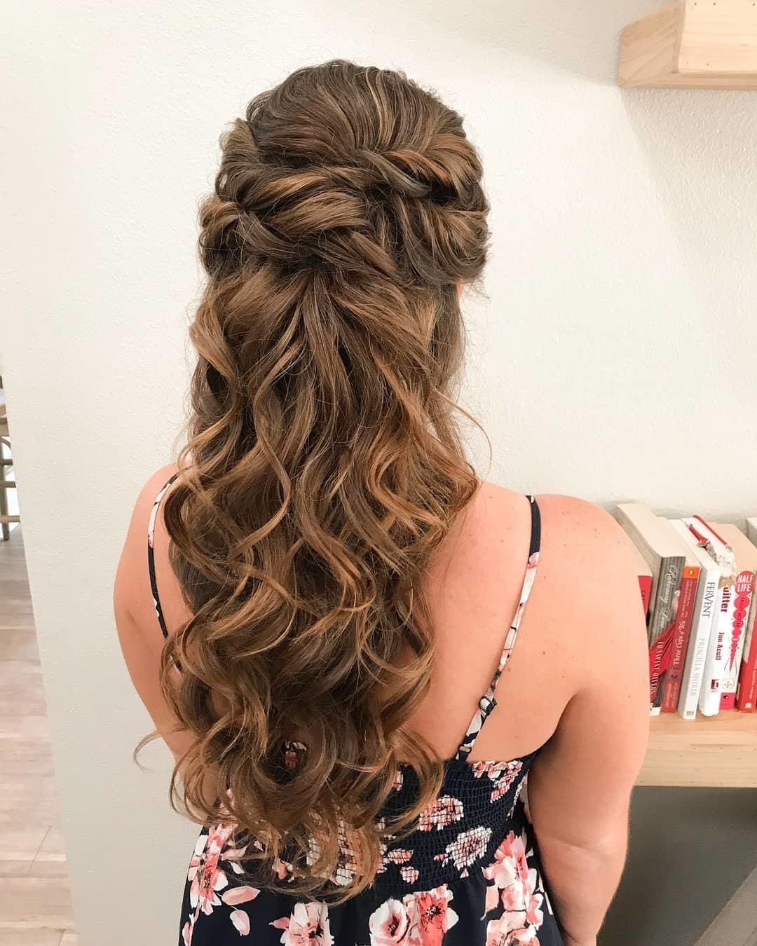 The 35 Perfect Wedding Hairstyles You Can Do Yourself Hair Styles Simple Wedding Hairstyles Natural Hair Styles