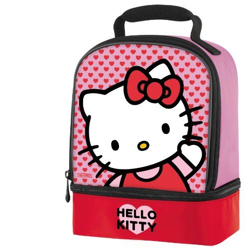 Thermos Dual-Compartment Hello Kitty Lunch Kit