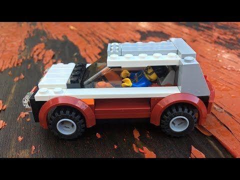 How To Make Lego City Urban Crossover Suv Moc Youtube