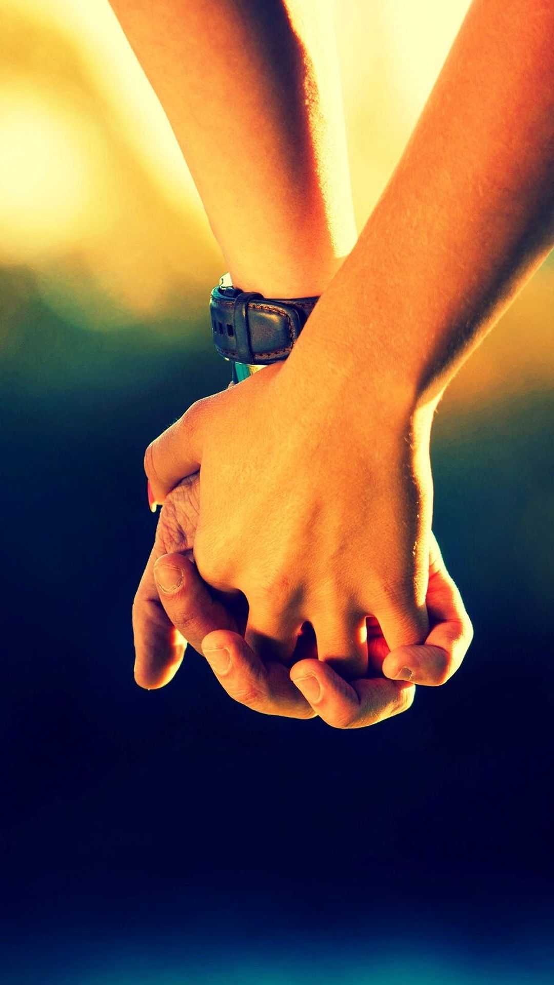 Couple Holding Hands IPhone 7 Wallpaper